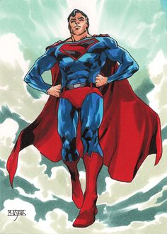 Kingdom Come Superman by Mahmud Asrar