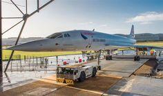 Concorde Alpha Foxtrot é a estrela do Museu Aeroespacial de Bristol - Info Aviação
