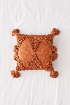 Shop Rumi Shag Throw Pillow at Urban Outfitters today. We carry all the latest styles, colors and brands for you to choose from right here. Bolster Pillow, Throw Pillows, Floor Pillows, Crochet Bikini, Crochet Top, Urban Outfitters, Cotton Sheets, Geometric Designs, Bra Tops