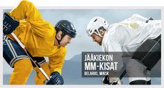 Voita huikeita palkintoja meidän jääkiekon MM-kisakampanjassa!   Lue lisää uutisosiostamme! #jääkiekonmm #jääkiekko #belarus2014 #minsk2014 #nhl #khl Vm 2014, Nhl, Blogg