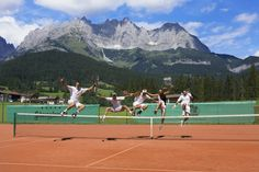 Tennis, #Sommer (via @stanglwirt) - www.stanglwirt.com