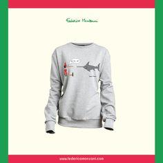Woman Sweatshirt Spadocchio - Federico Monzani www.federicomonzani.com