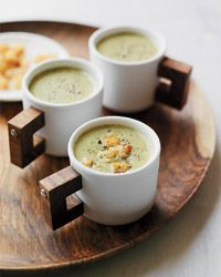 Shavuot is just around the corner! Start preparing now with this delicious creamy soup. #DairyOnly #Shavuot  Kosher Recipe: Creamy Roasted Broccoli Soup | Gourmet Kosher Cooking