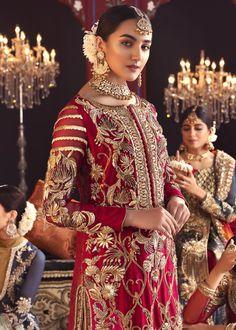 Shadi Dresses, Pakistani Formal Dresses, Pakistani Wedding Outfits, Pakistani Dress Design, Bridal Outfits, Pakistani Clothing, Wedding Hijab, Indian Dresses, Wedding Dresses