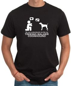 No One Understands Me Like My Treeing Walker Coonhound Men T-Shirt