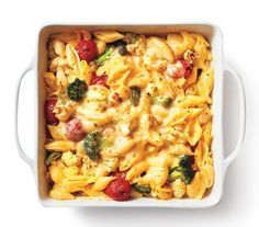 Roasted Broccoli and Tomato Mac & Cheese Diabetic