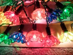rare fabulous vintage pifco 20 fairytale christmas tree lights boxed working