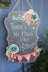"""The Little Blue House - """"Family"""" Chalkboard Kit-"""