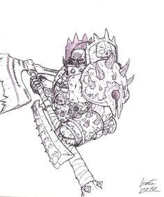 High Overlord Varok Saurfang by Greyall.deviantart.com on @deviantART