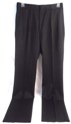 POLO RALPH LAUREN Mens Dress Pants Size 33 Regular Wool Pleated NWT New Black #PoloRalphLaurenslacks #poloralphlaurenpants