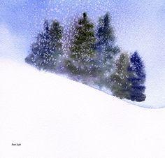 Winter Snowfall - Anne Duke