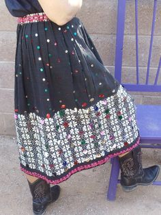 Check out this item in my Etsy shop https://www.etsy.com/listing/235194737/vintage-guatemalan-pleated-skirt-with
