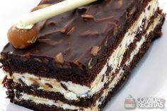 Receita de Pavê crocante com chocolate - Comida e Receitas