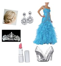 """""""Cinderella"""" by kayla-perkins-1 on Polyvore featuring beauty, Dolce&Gabbana, HoneyBee Gardens and Cinderella"""