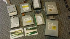 Used Dell Computer Parts Lot