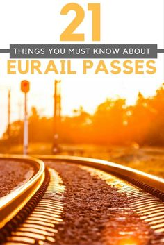 Have you heard of the Eurail pass? If not, it's really time to clue yourself up on it! Maybe you've heard of it, and you don't know much about it, but in either case, this guide is designed to show you exactly what a Eurail pass is, who it's for, what it can offer you, what it will cost you, and exactly how to use it. Read on to be completely enlightened!