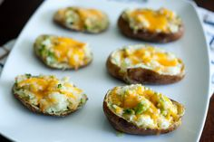 broccoli cheddar twice baked potatoes.