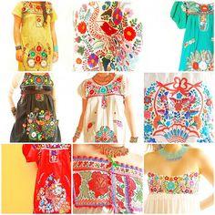 Friday Funspiration: Mexican Embroidery by Aida Coronado Galeria | Flickr - Photo Sharing!