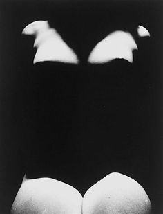 Erwin BLUMENFELD :: Untitled, [Nude with Shadows], 1950