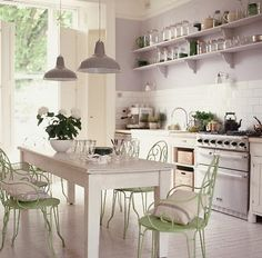awesome cream dining chairs picture