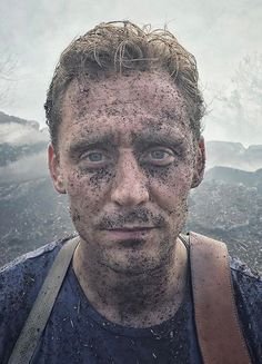 "voteroberts: ""After an air cannon blasted @twhiddleston in the face with dirt debris. I cannot express to you how committed Tom is and as soon as we got this shot we realized it was such a good take that it would require him to be much dirtier than planned in the subsequent scenes. Worth it :)"" (https://www.instagram.com/p/BRzzWRPFbpS/ )"