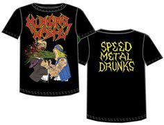 Municipal Waste - Barfing Speed Metal Drunks 2-sided T-Shirt - Brand New #speedmetal #MunicipalWaste