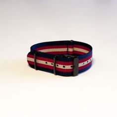National Day Nato Watch Strap w/ Black Buckle - Limited Edition   The Strapster