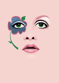 ilustration Girls Vectors by Electra Sinclair, via Behance Digital Illustration, Graphic Illustration, Zelda Drawing, Forest Art, Graphic Design Software, Abstract Line Art, Painting Of Girl, Vector Portrait, Illustrations And Posters