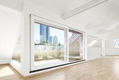 Dachgeschossausbau Frankfurt | CBA Clemens Bachmann Architekten | München
