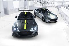 Aston Martin Rapide & Vantage Receive AMR Versions