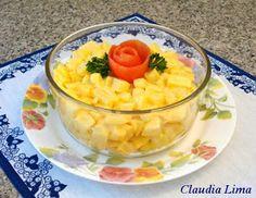 Magia na Cozinha: Salada de Batatas com Maionese sem Ovos