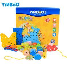 Find More Blocks Information about Wooden Toys for children Montessori Education Wood Threading Board with Beads building Blocks kids DIY handmake toy,High Quality board battery,China toy hummer Suppliers, Cheap board unit from Ningbo BW Co. Ltd Store on Aliexpress.com