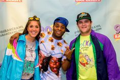 Fans posing with Kel Mitchell from Mystery Men at the 90's Bar Crawl in Washington, DC on Saturday September 26th 2015. || #AlexTonettiPhotography #Photography