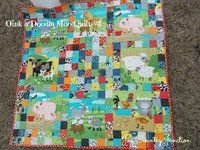Animal Pens Baby Quilt