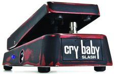 New Slash Signature Cry Baby Classic Wah From Jim Dunlop