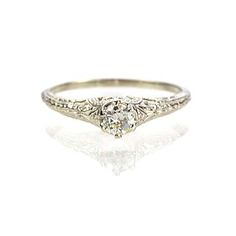 New York, NY Jewelry, engagement rings - Leigh Jay Nacht - Replica Edwardian Engagement ring - 3293-03
