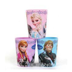 Housewares Household Articles-Frozen cup Elsa,Anna,Christophe bundle 3set(9pcs)