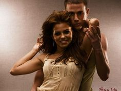 Channing Tatum and Jenna Dewan as Tyler & Nora from Step Up (2006)