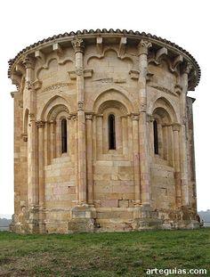 Ermita de La Concepción de San Vicentejo de Treviño, condado de Treviño, Burgos. Románica S.XII