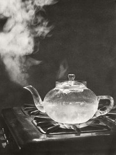 glass teapot..perfect to brew my homegrown teas.