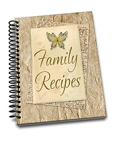 Family Meals, Family Recipes, Spiral, Notebooks, Journals, Amazon, Amazons, Riding Habit, Cook Books