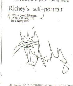 ... Sad days...too many memories - RichieŽs self portrait... Parece un mini :) <BR> <BR> <BR>Mañana a clases. <BR> <BR>Espero que poner atención en evaluación me ayude a eliminar estos pensamientos tontos. <BR> <BR>Saludos a todos <BR> - Fotolog