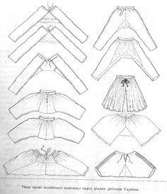 Sarouel Schnittmuster - Sarouel Pattern