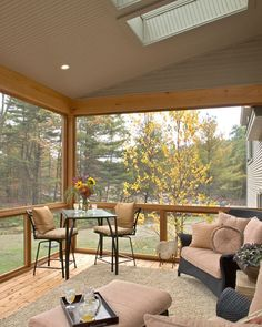 We're getting out of the cooking area today, and also into the screened in porch. I'm sharing screened in porch ideas on specifically just how to benefit from a little spending plan. Screened Porch Designs, Screened In Patio, Front Porch, Porch Roof, Fire Pit Furniture, Outdoor Furniture Sets, Garden Furniture, Furniture Ideas, Outdoor Rooms