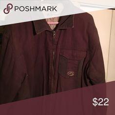Kirra coat 100 percent cotton size XL Brown with light brown lining Kirra Jackets & Coats