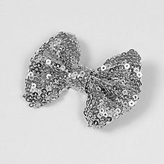 Shimmering Sequin Hair Bow