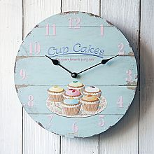 Cup Cakes Wall Clock
