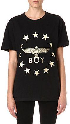 Boy London Metallic stars t-shirt on shopstyle.co.uk