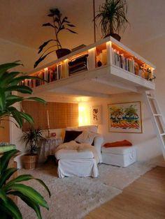 Interesting loft idea...#Ideas SOOOOO COOL. Wow. I absolutely love this...