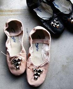 Sapatilhas de ballet customizadas